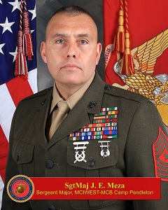 Sergeant Major Julio E. Meza